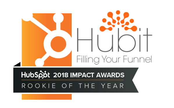Hubit HubSpot Impact Awards Winner 2018